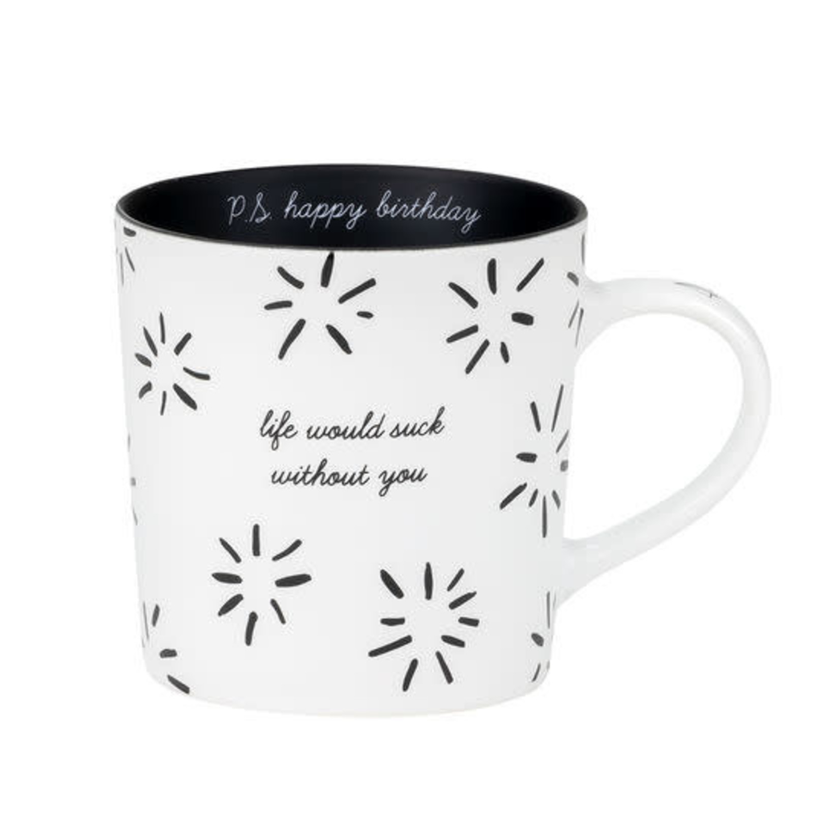 About Face Designs, Inc Mug: Life Would Suck