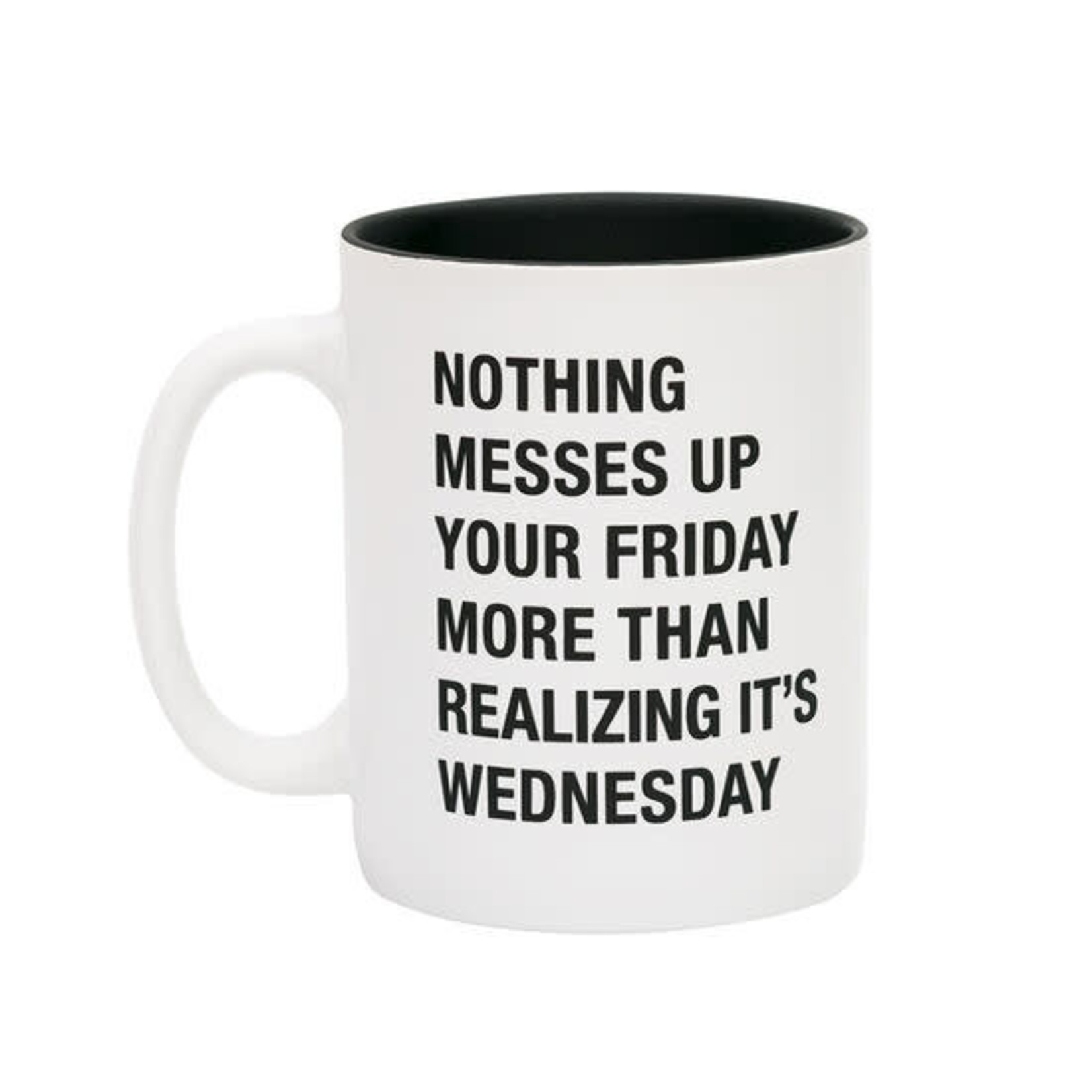 About Face Designs, Inc Mug: Realizing It's Wednesday