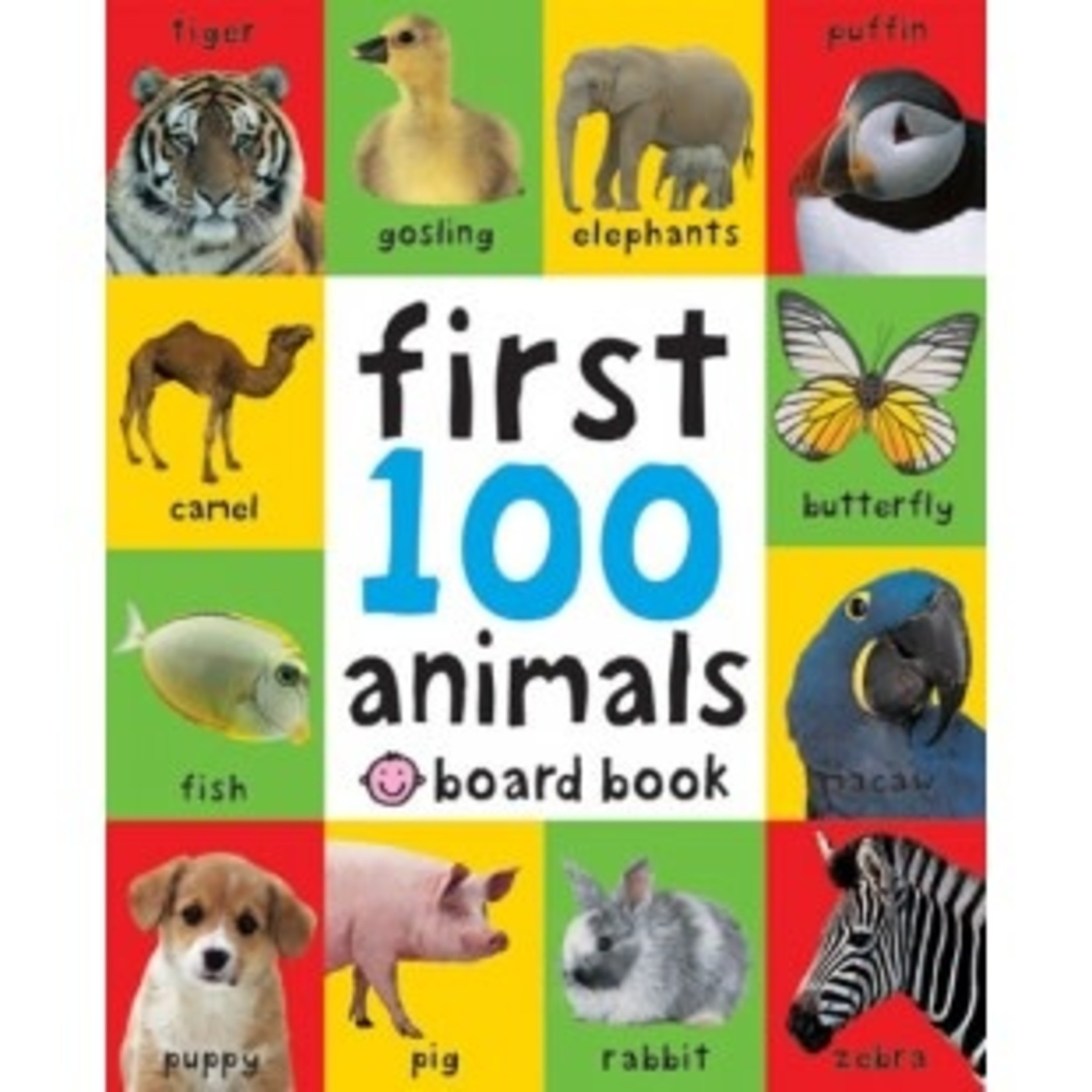 Skandisk, Inc. First 100 Animals Padded Book
