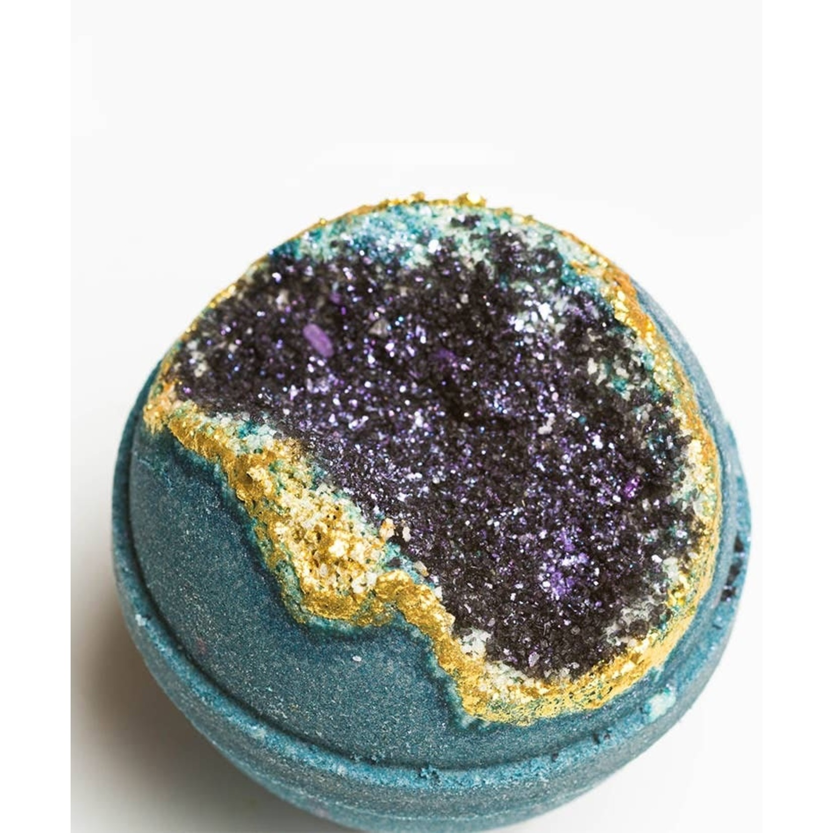 Latika Beauty Bath: Obsidian Geode Bath Bomb