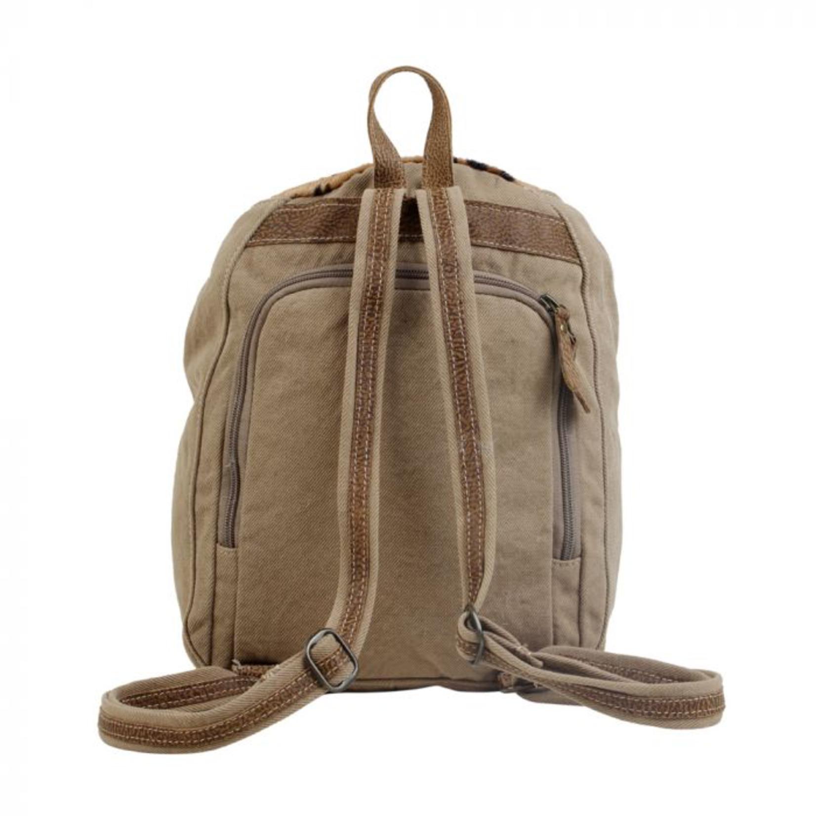 Myra Bag Bag: Compete Canvas & Hairon Backpack