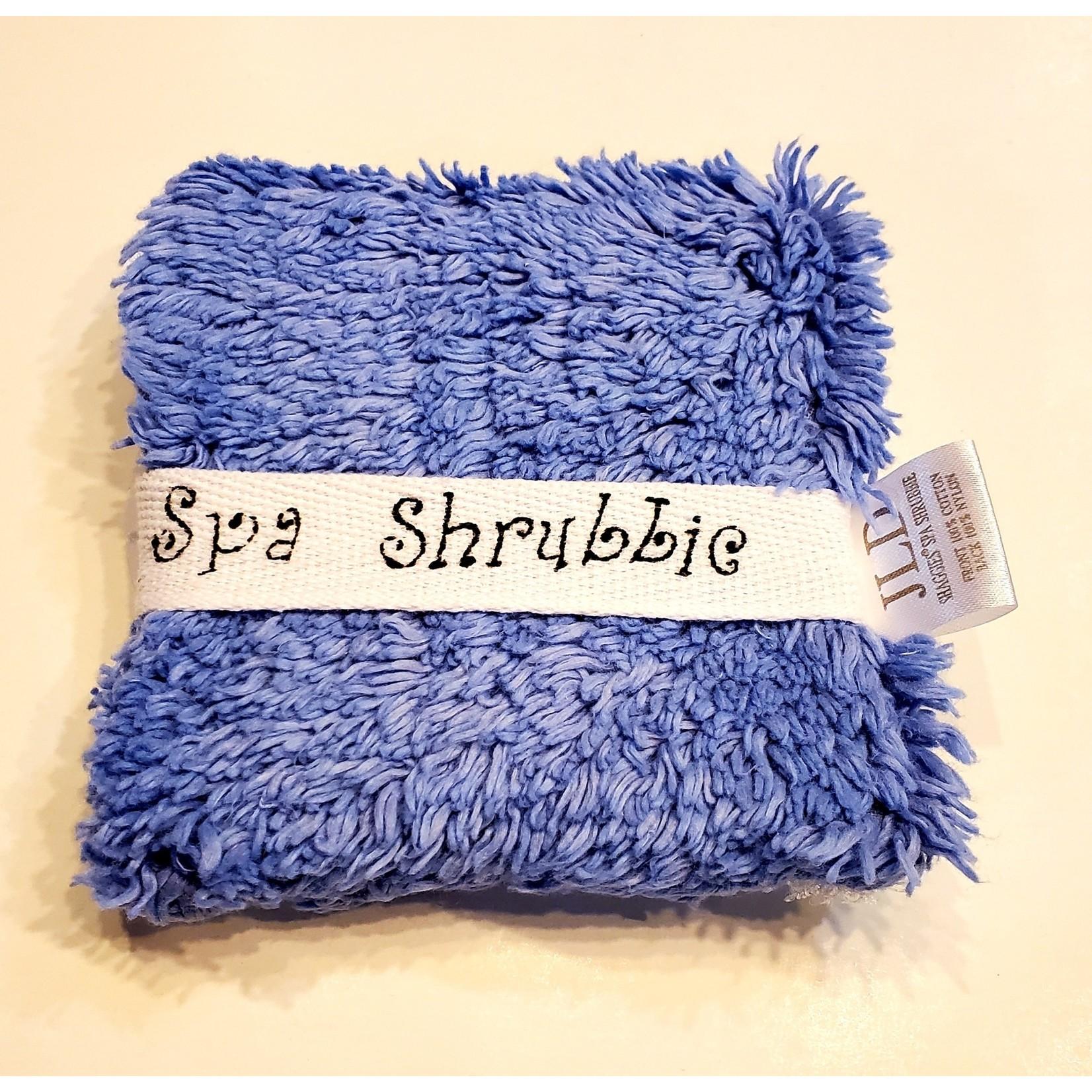 Janey Lynn's Designs Spa Shrubbie: Blue Iris