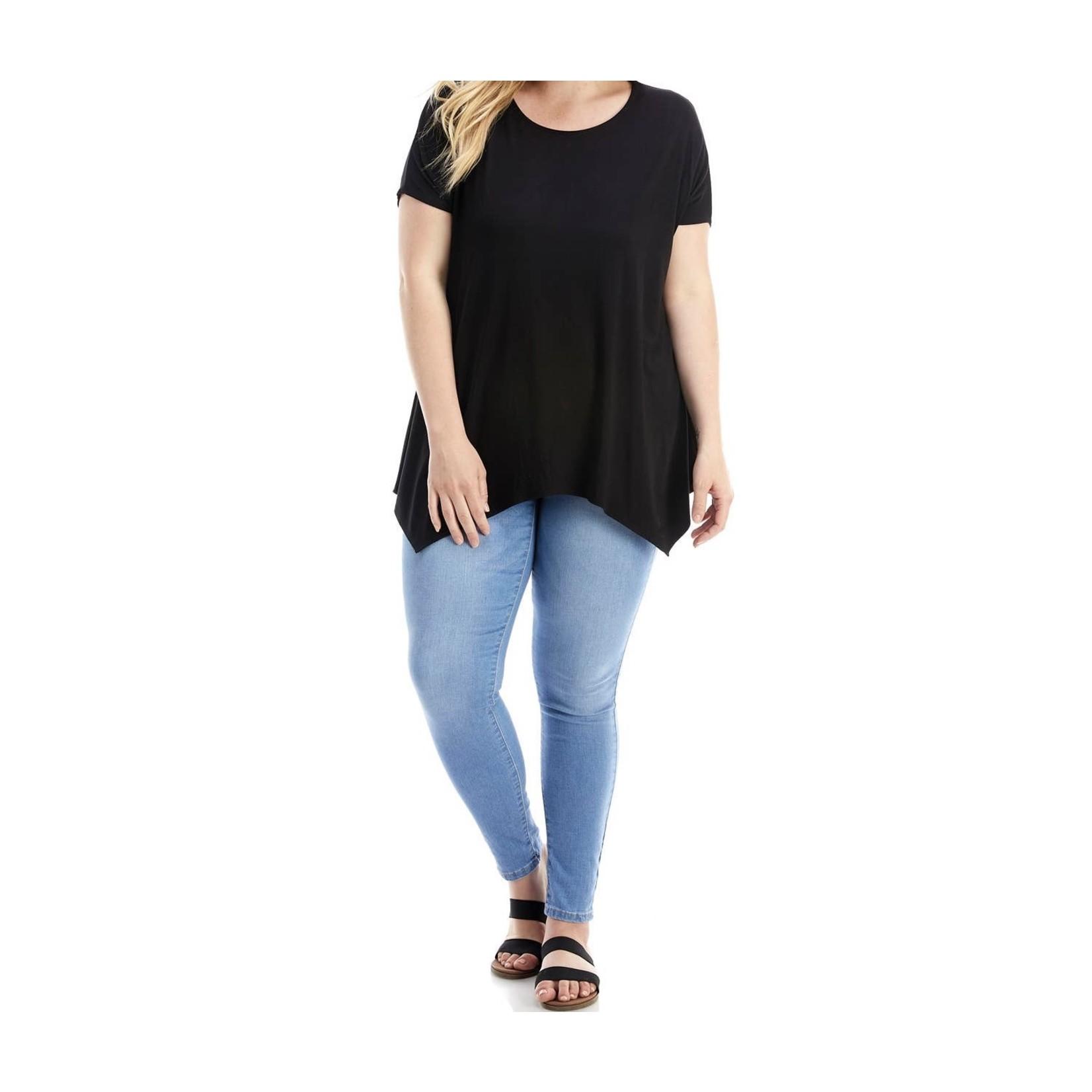 Azules PS: Asymmetric Short Sleeve Tunic