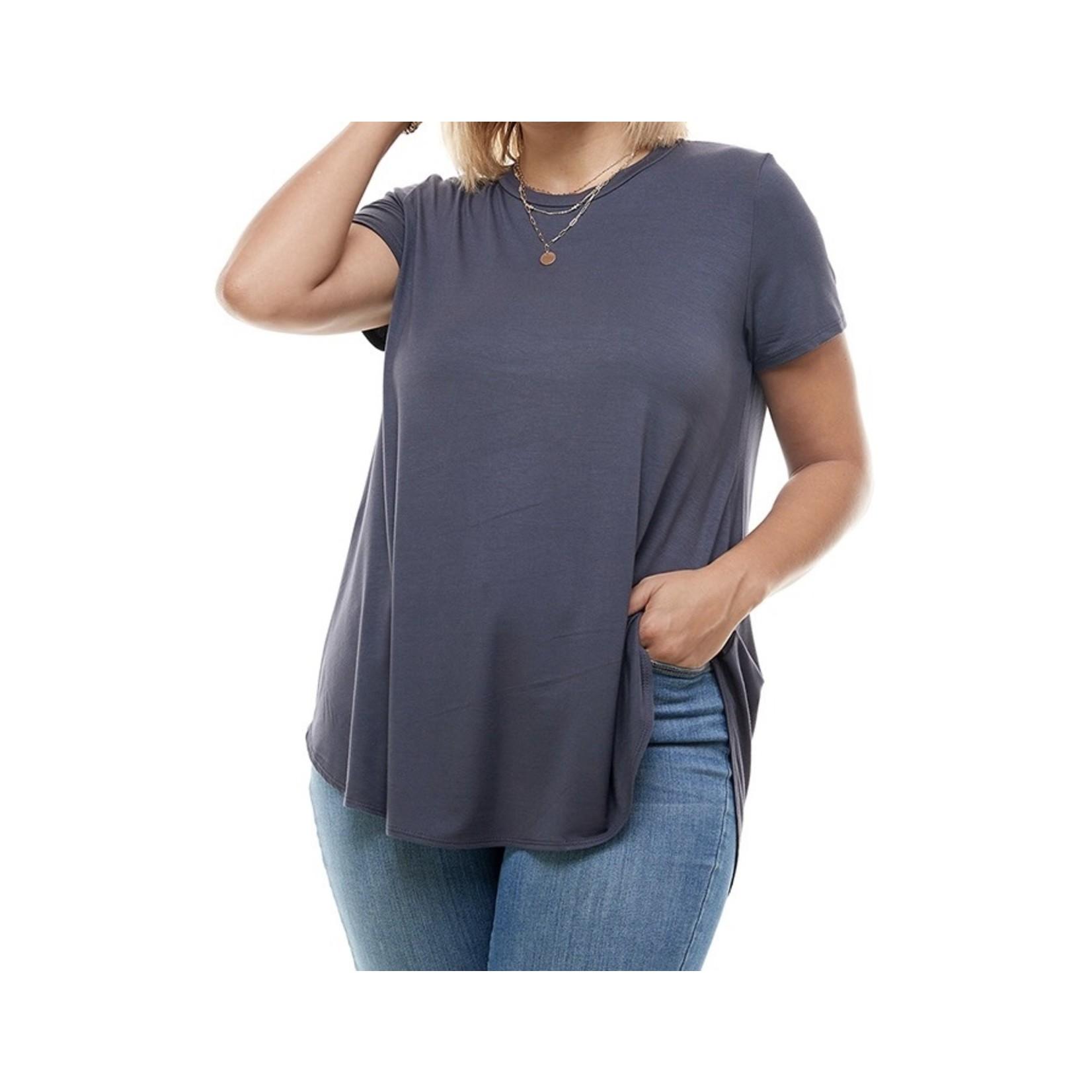 Azules PS: Loose Cut Short Sleeve Top