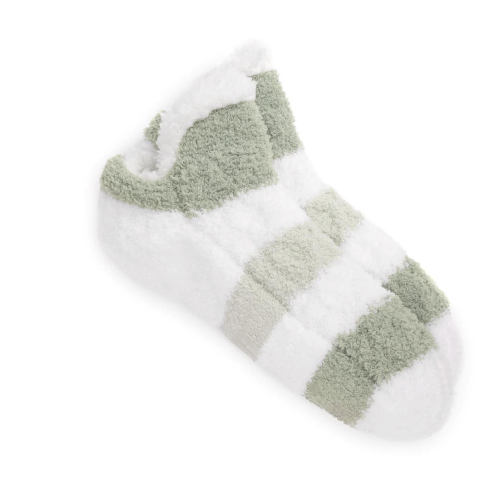 Muk Luks Sock: Short Cabin Sock + Infused