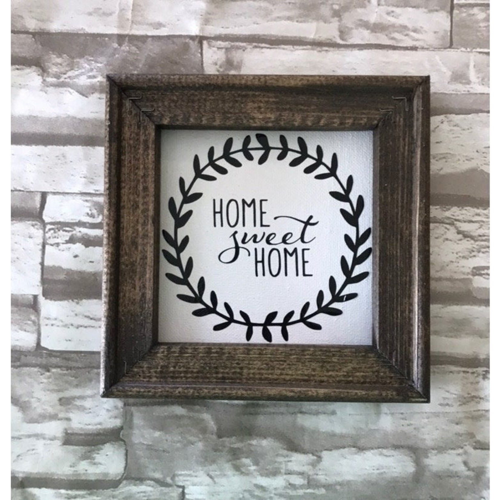 Works of Panglossian Sign: Home Sweet Home Farmhouse Inspired