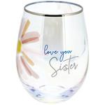 Pavilion Gift Co. Glass: Sister Stemless-18oz.