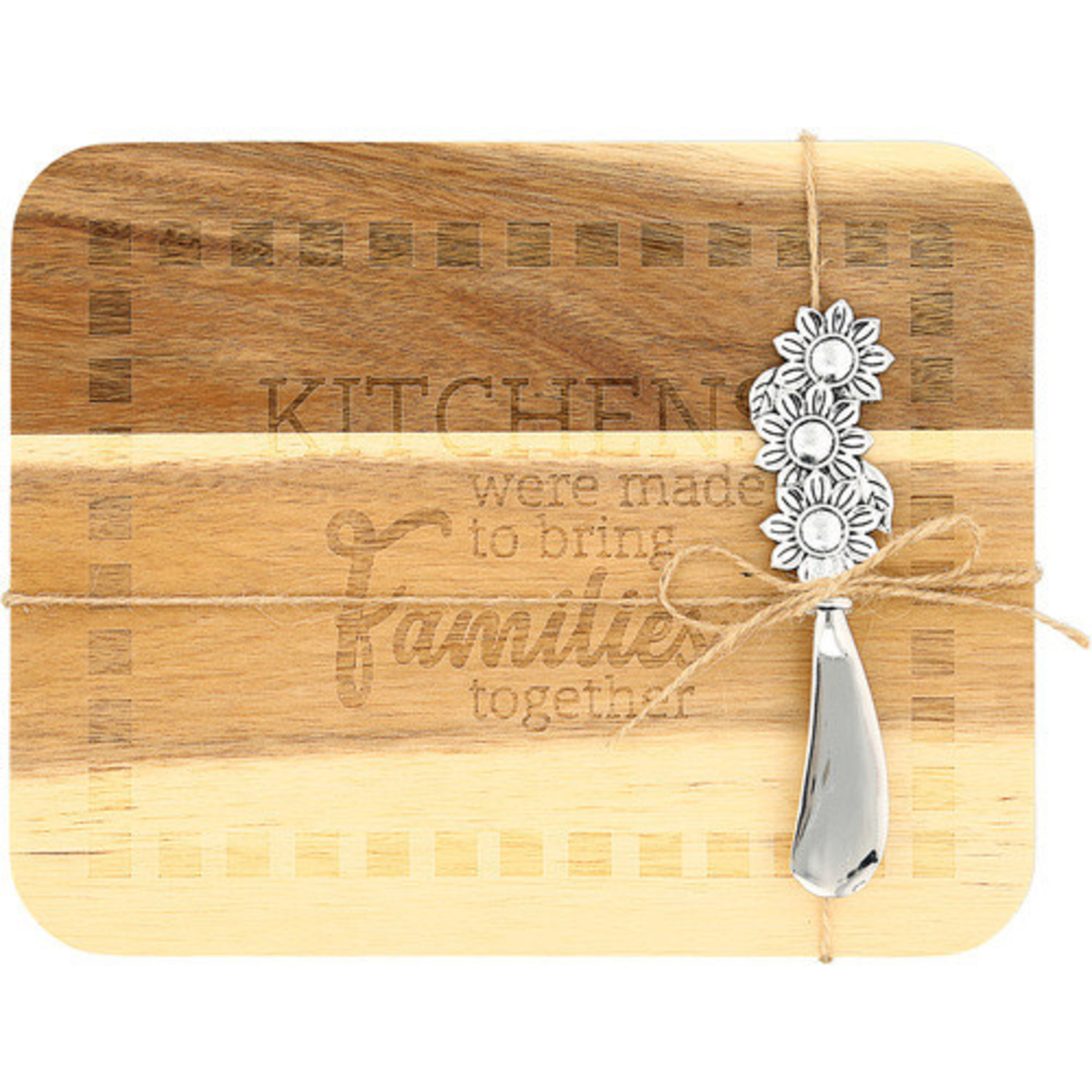 """Pavilion Gift Co. Kitchen: Family Serving Board 9""""x7"""""""