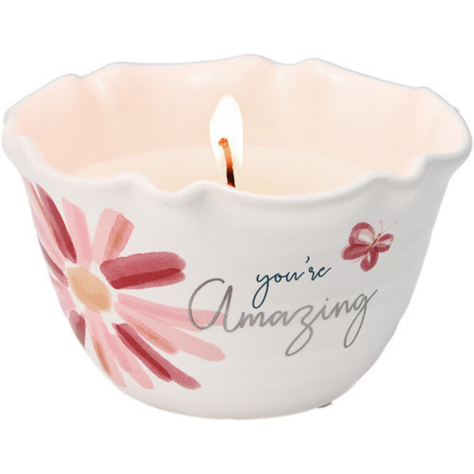 Pavilion Gift Co. Candle: Amazing- 9oz.
