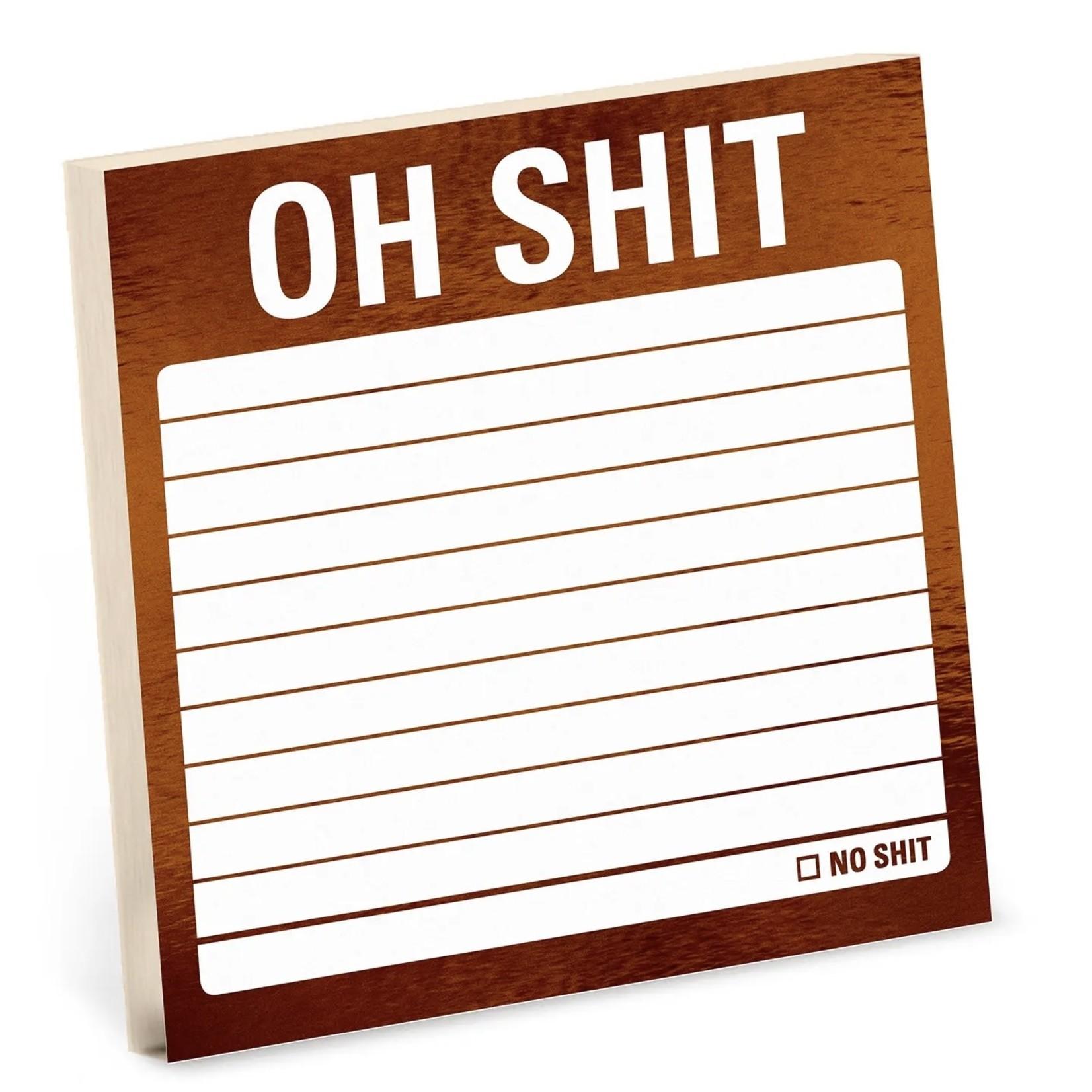 KNOCK KNOCK Snarky: Oh Sh!t Sticky Notes