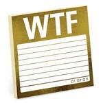 KNOCK KNOCK Snarky: WTF Sticky Notes