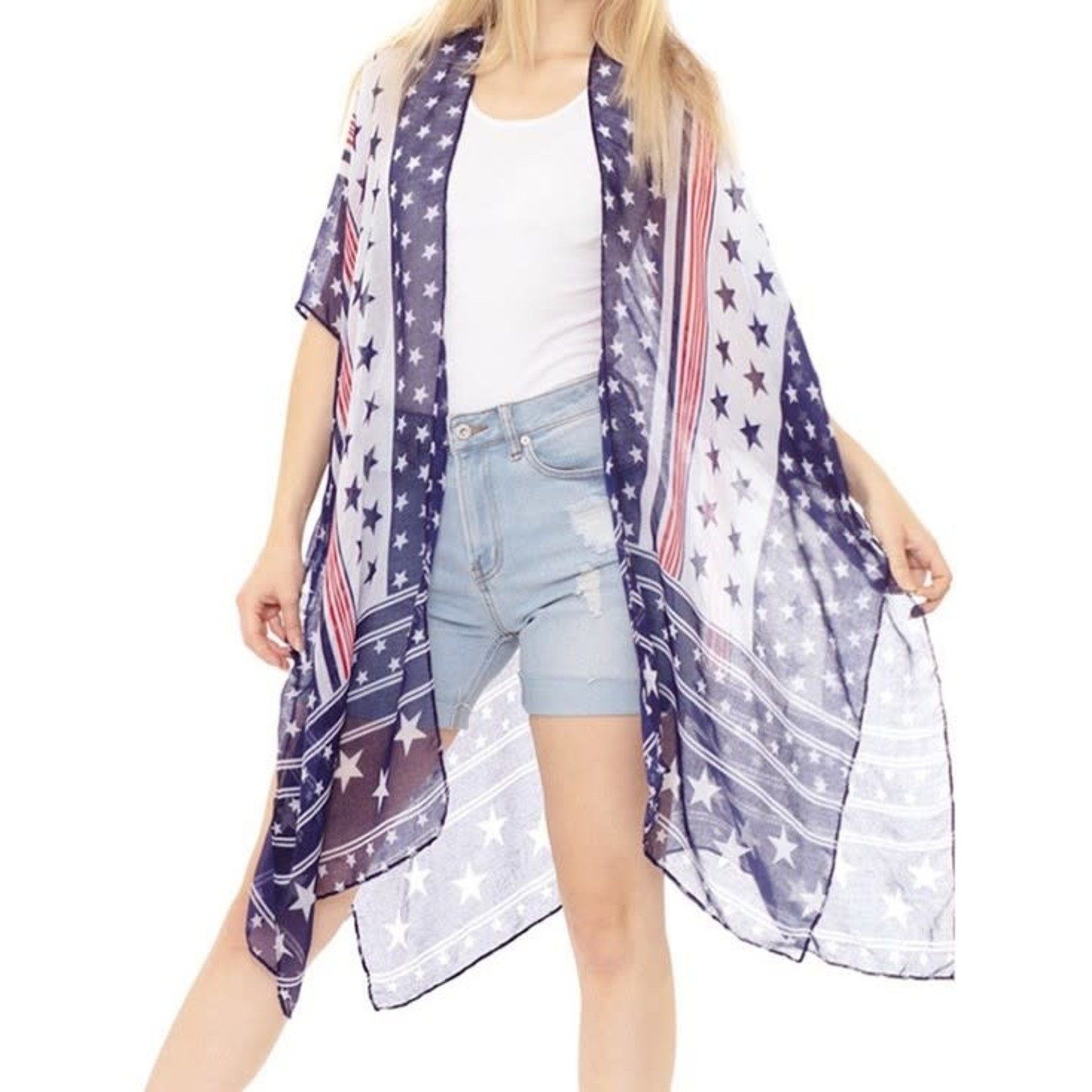 Hanna Hoisery Lightweight Kimonos: