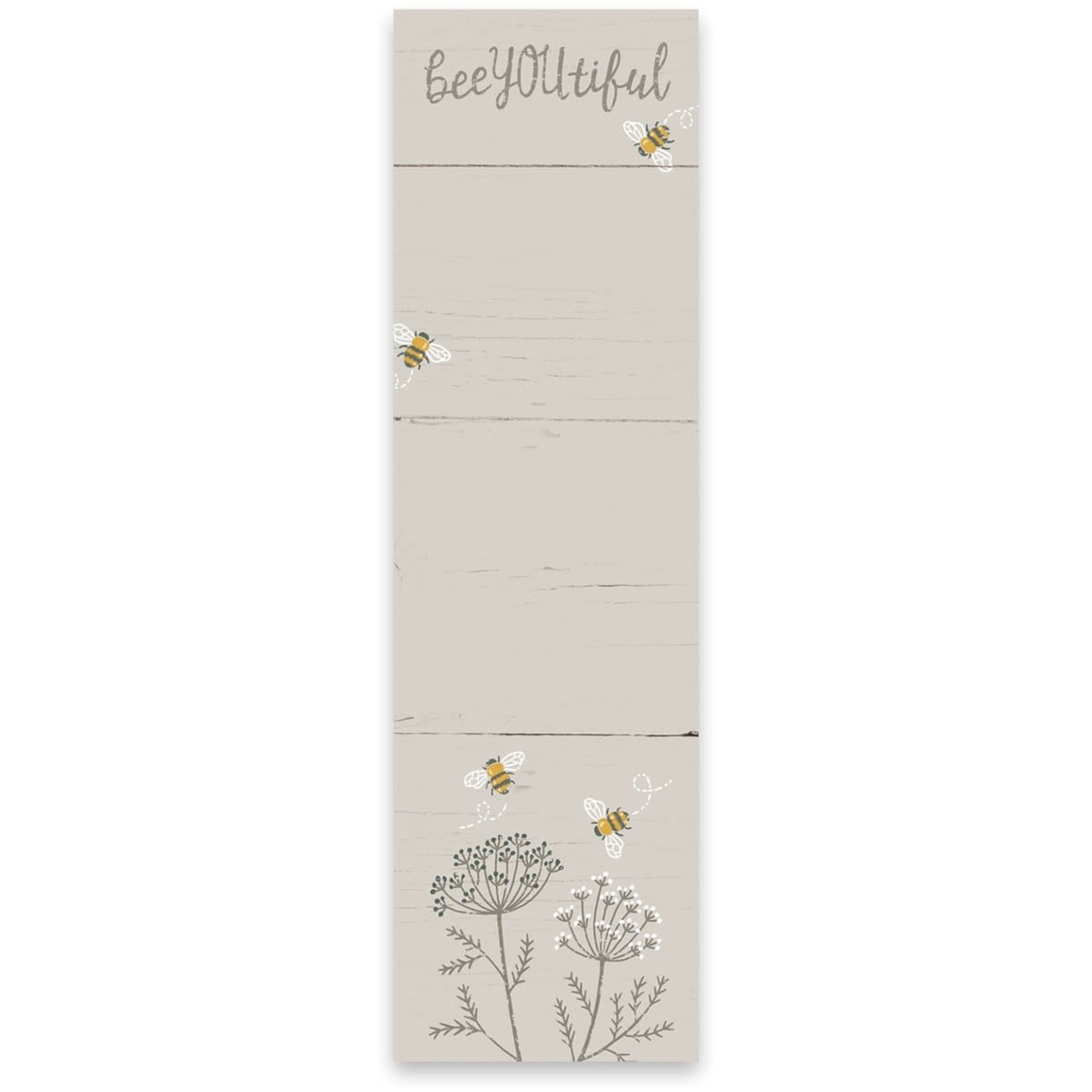 Primitives by Kathy Stationary: Bee YOU tiful List Notepad