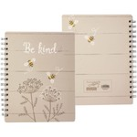 Primitives by Kathy Stationary: Be Kind Spiral Notebook