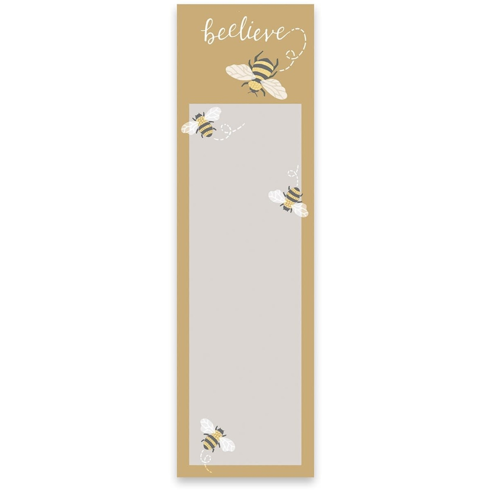 Primitives by Kathy Stationary: Beelieve Magnetic Notepad