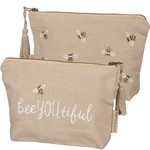 Primitives by Kathy Bag: Bee YOU tiful Zipper Pouch