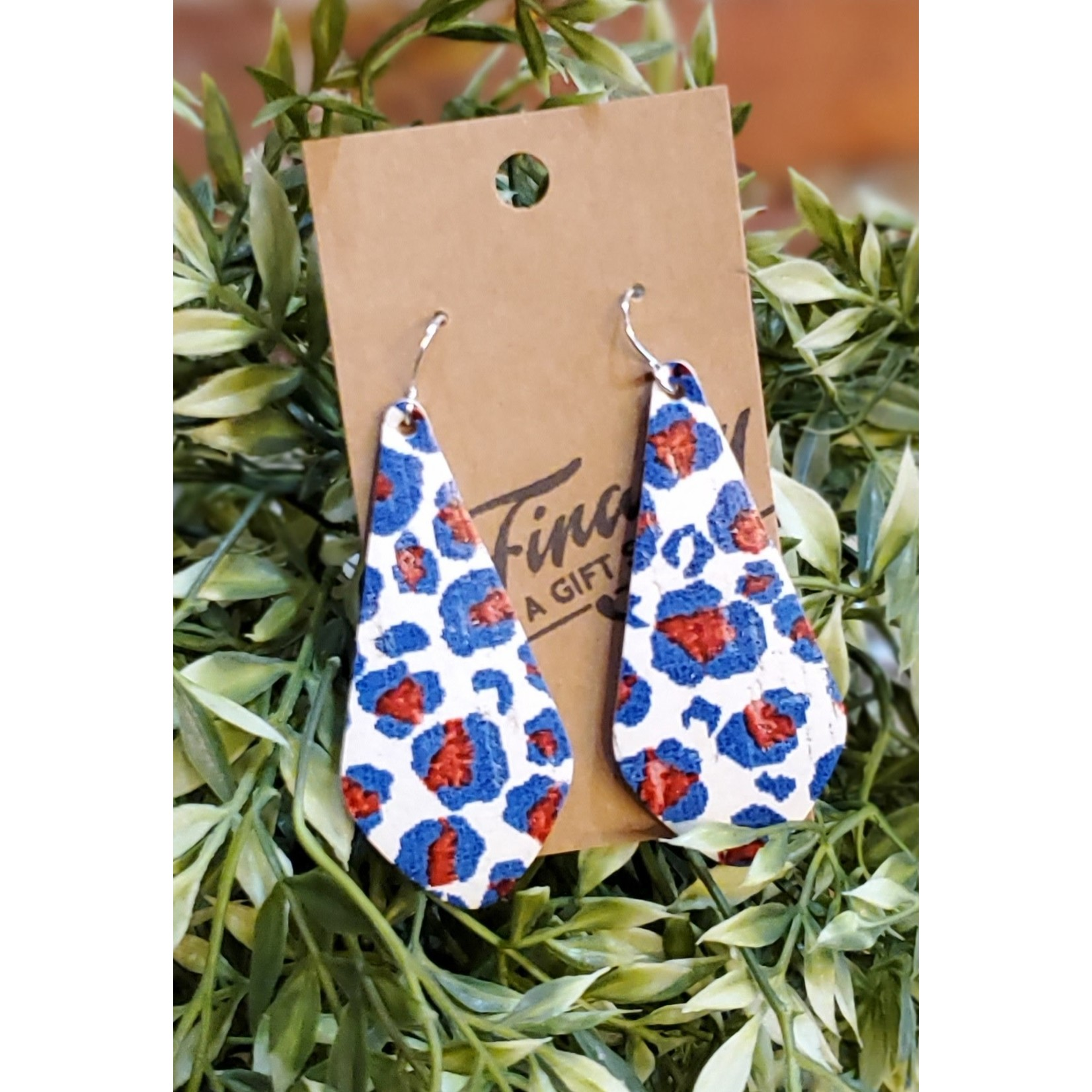 Baubles by B Earrings: Leather
