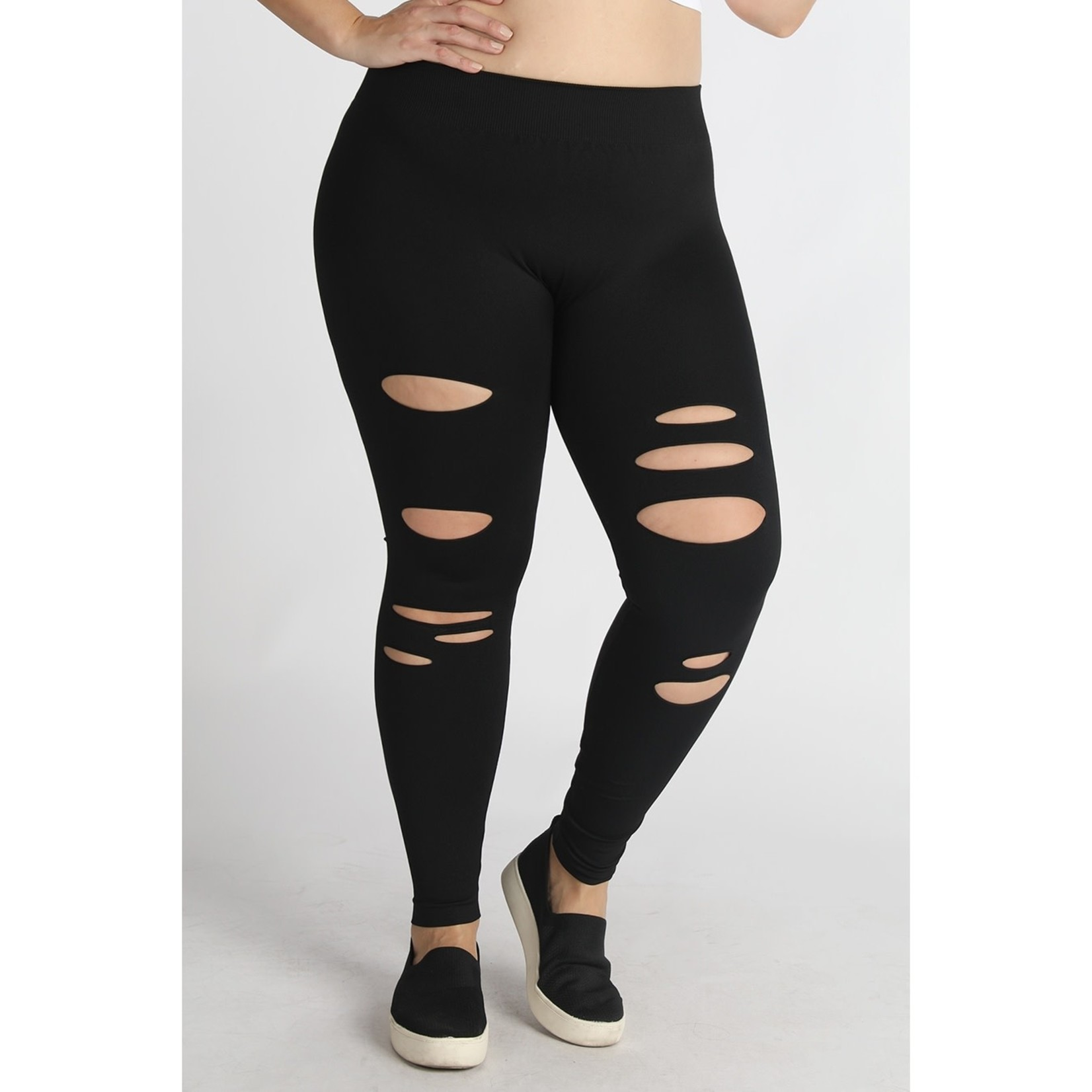Sale Collections Bottoms: Distressed Leggings