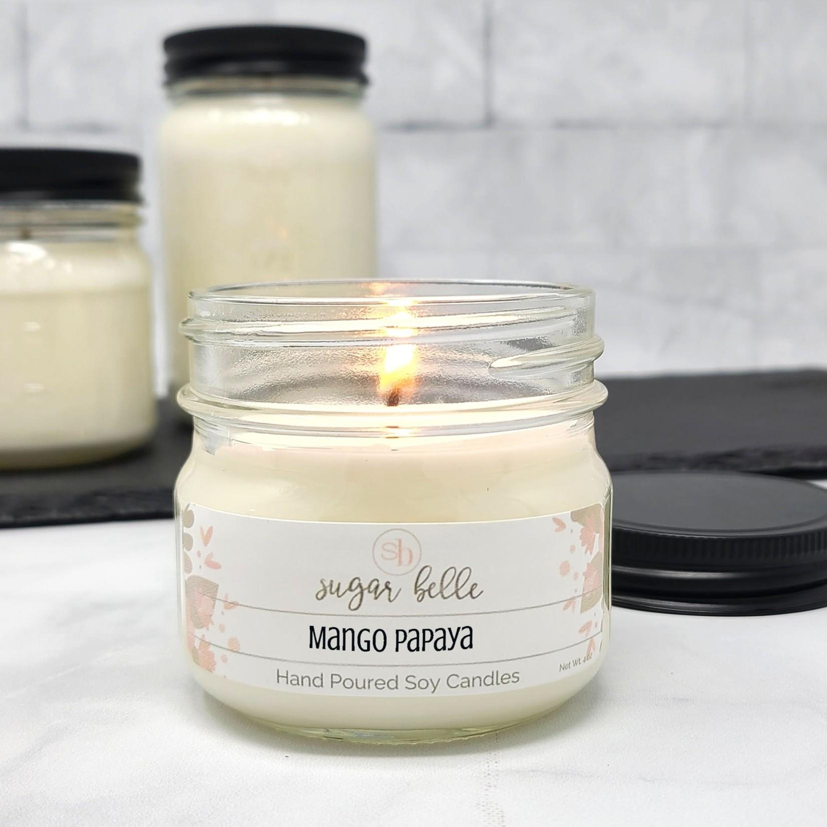 Sugar Belle Candles Candle: Soy 4 oz. Mason Jar