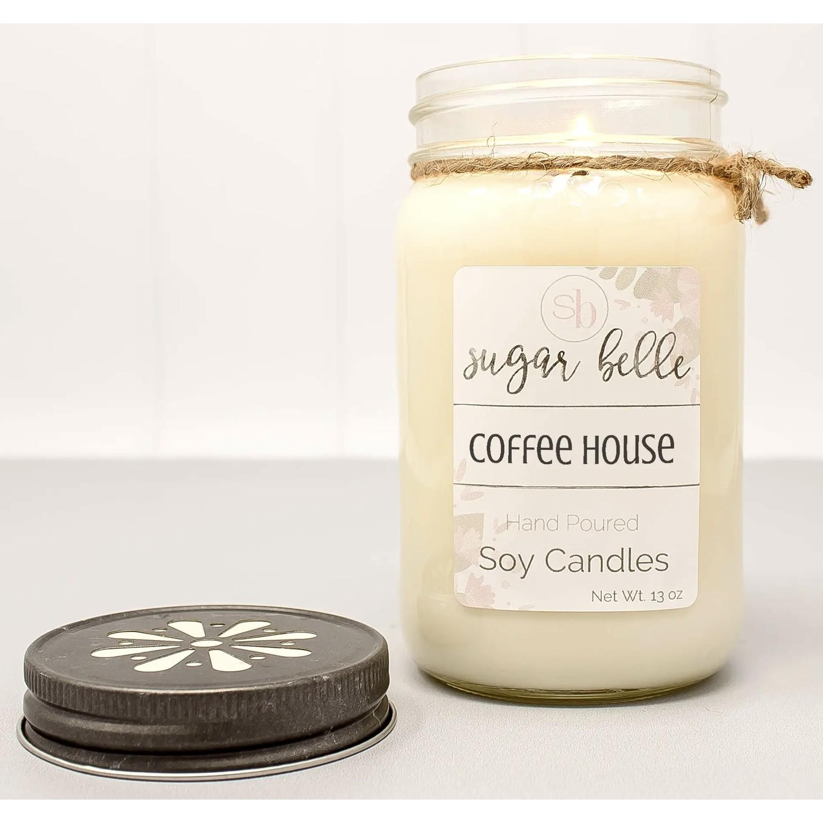 Sugar Belle Candles Candle: Soy 16 oz. Mason Jar