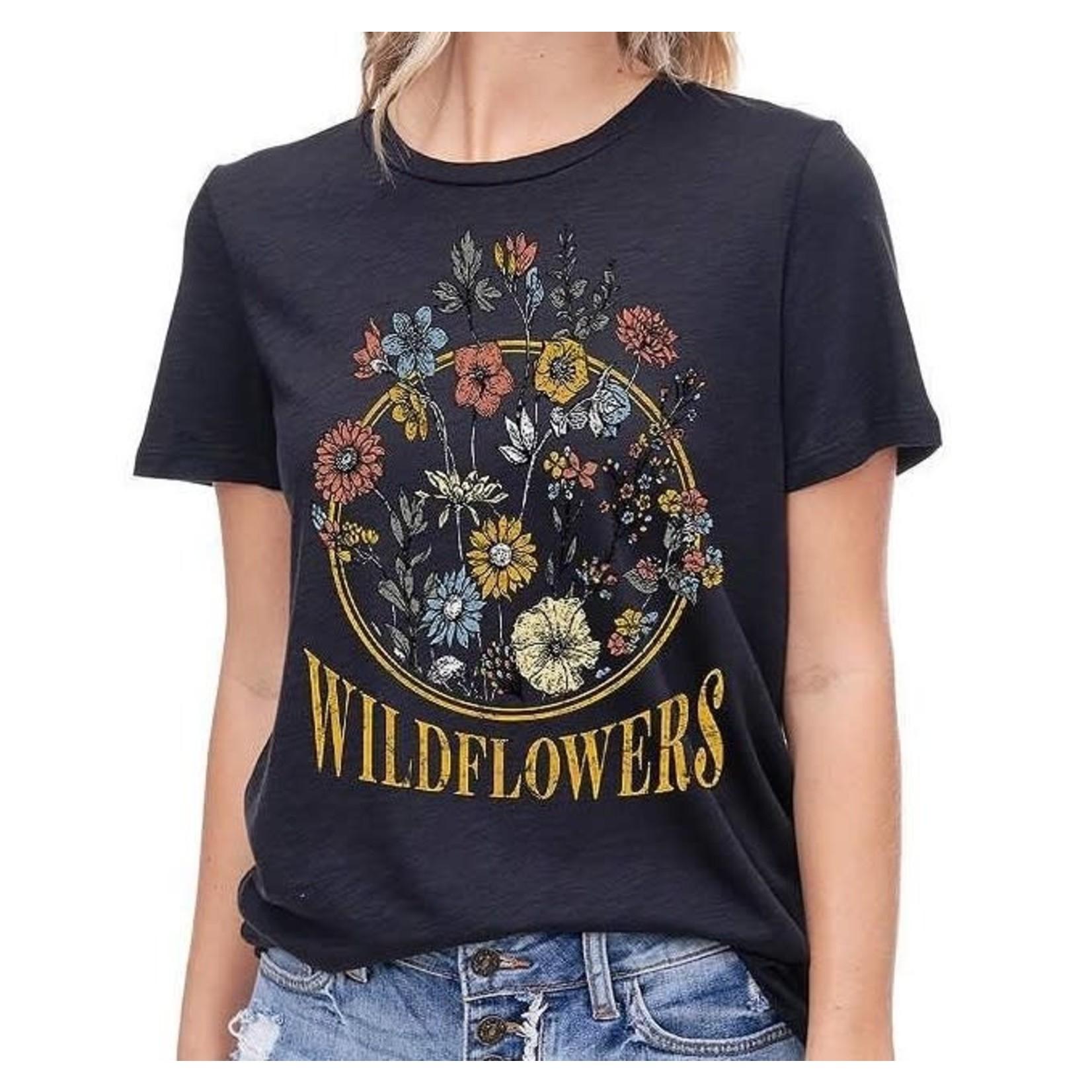 ZUTTER Graphic Tee: Wildflower