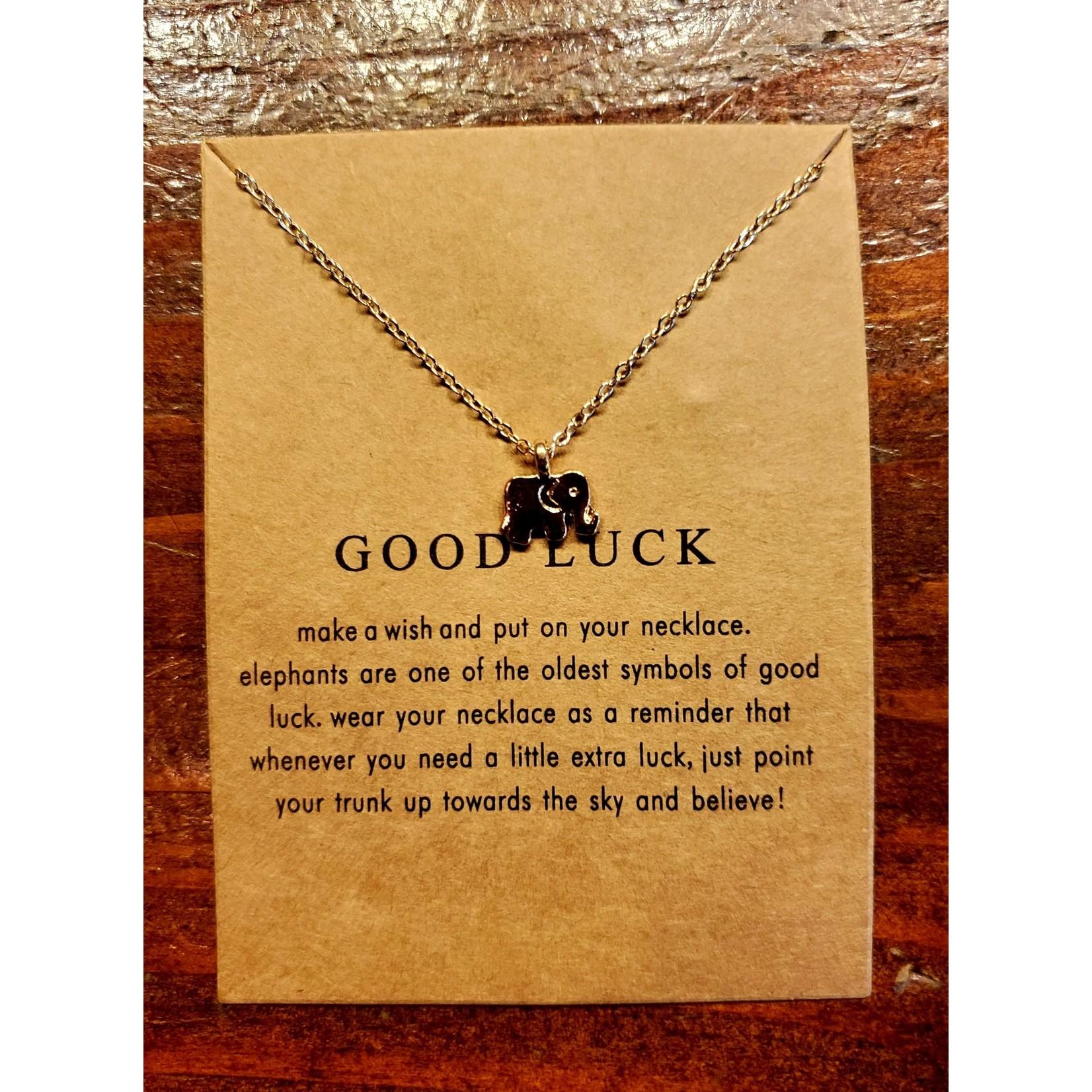 VIDA FELIZ Uplifting Necklace: