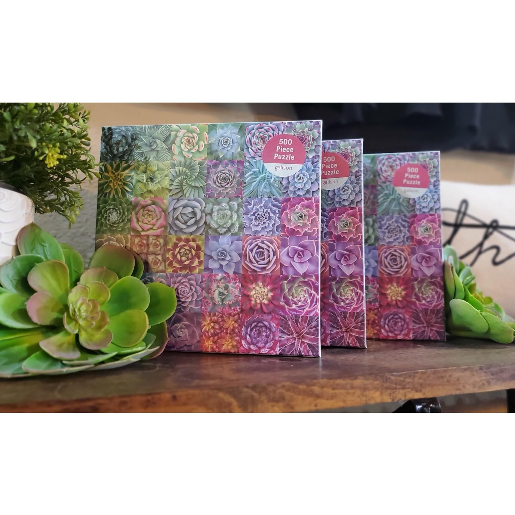 Hachette Book Group Puzzle: Succulent Spectrum