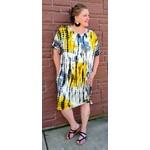 Nikki & Alex PS: Mila Tiedye  Oversize Knit Dress+ Pockets