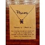 VIDA FELIZ Zodiac Necklace: