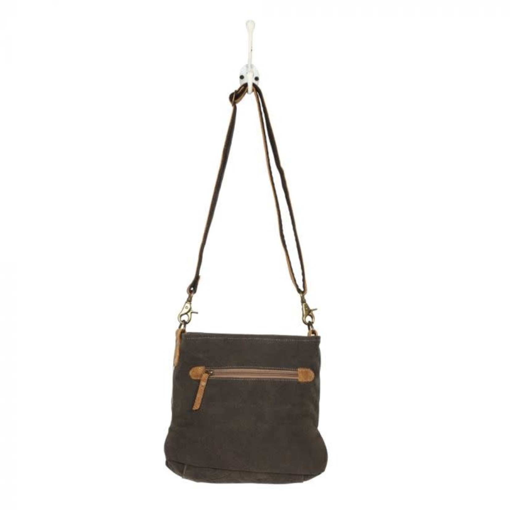 Myra Bag Bag: Azure Printed Shoulder Bag