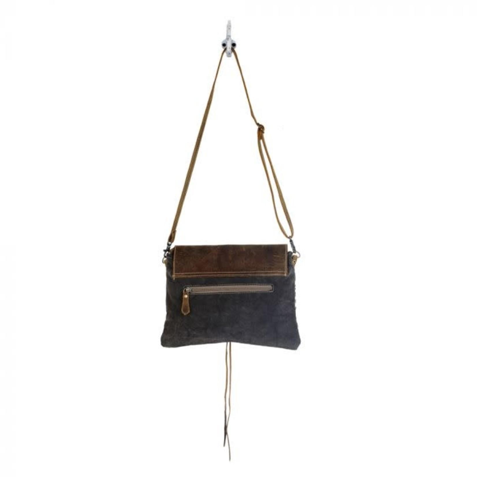 Myra Bag: Ivy Patterned Small Crossbody Bag