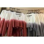 EE:Some Knitwear: Dip-Dye Cropped Cardigan