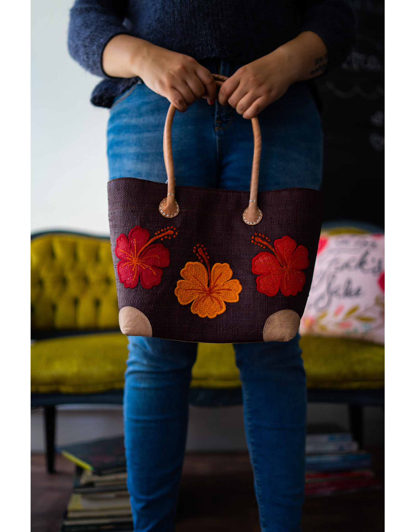M. Panier M. Panier - Petit sac avec fleurs