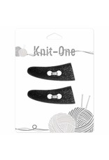 Knit One 2 x toggle 54mm - Black