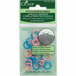 Clover Ring Stitch Markers