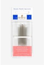 DMC Embroidery Needles (Sizes 3-9)