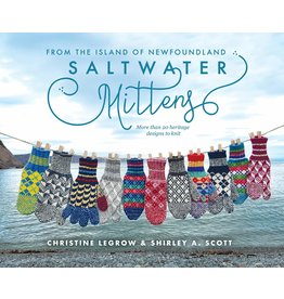 Saltwater Mittens - Legrow & Scott - Knitting Mittens Patterns