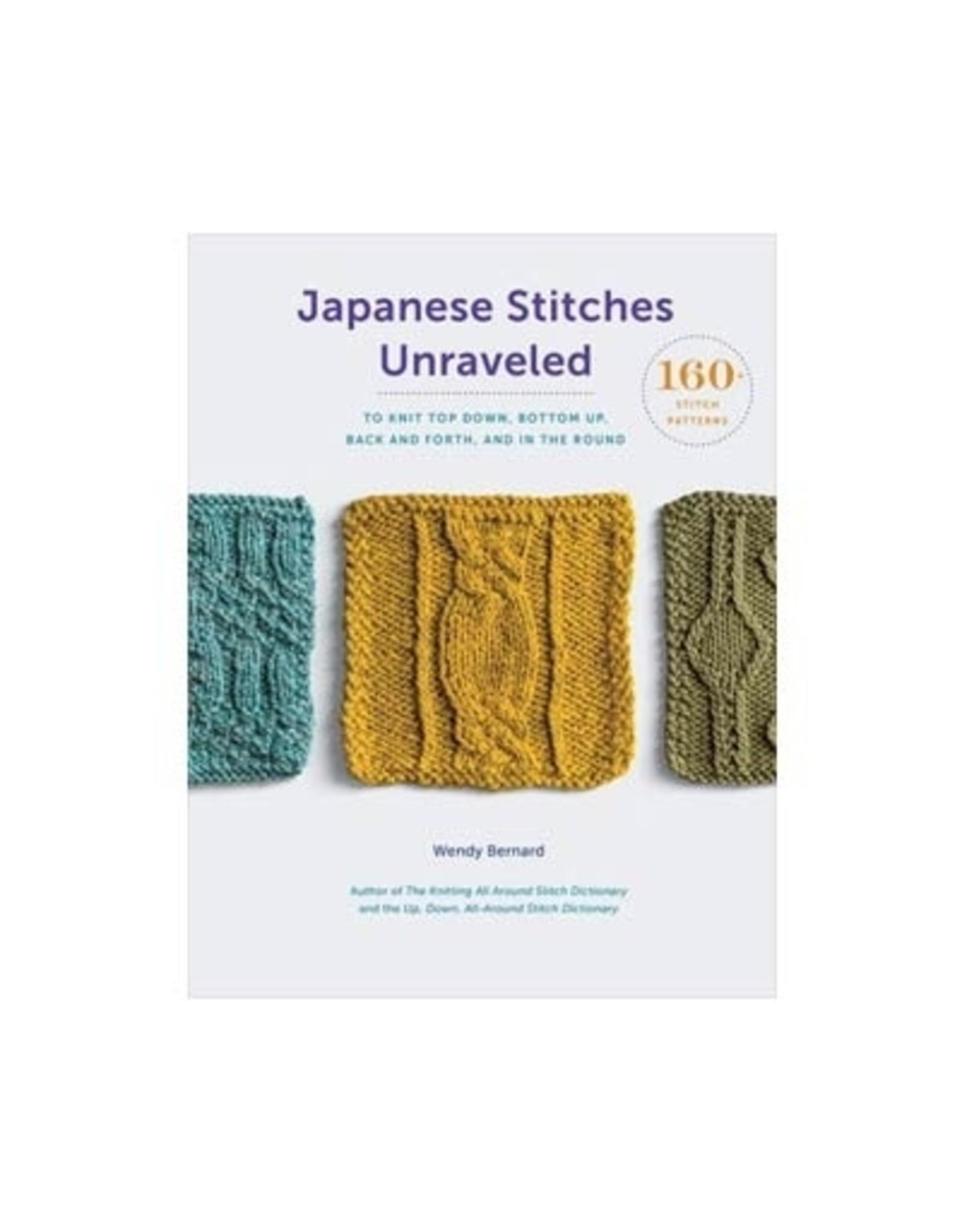 Wendy Bernard - Japanese Stitches Unraveled