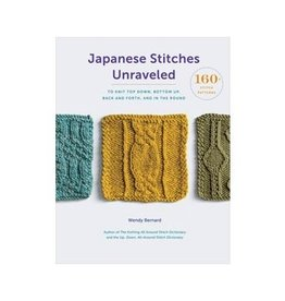 Japanese Stitches Unraveled - Wendy Bernard - Guide to Japanese Stitches