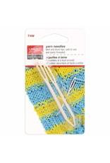 Unique Yarn Darning Needle - Plastic Bent Tip (2pcs)