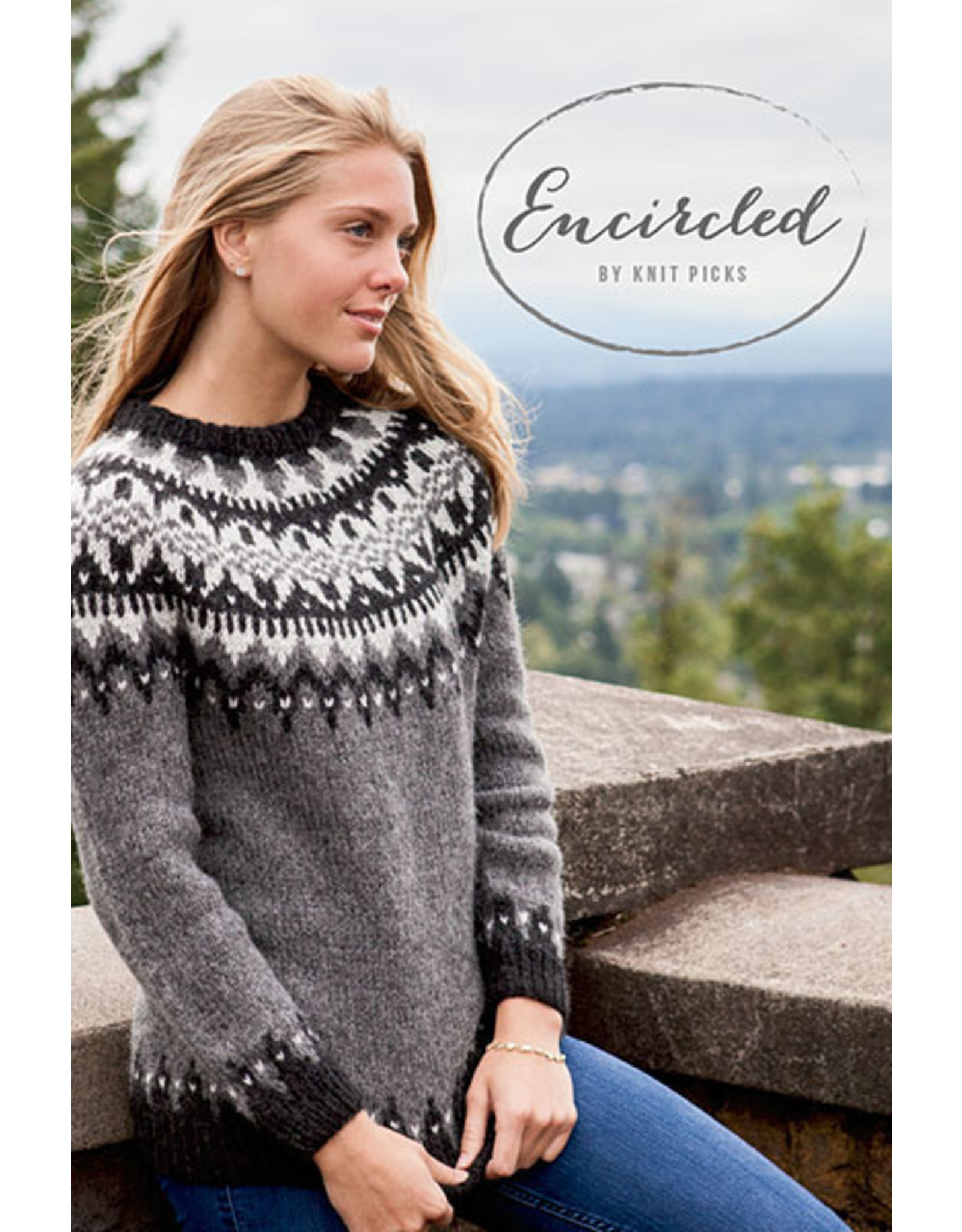 Knit Picks Encircled - Knit Picks - Knitted Pullover Patterns