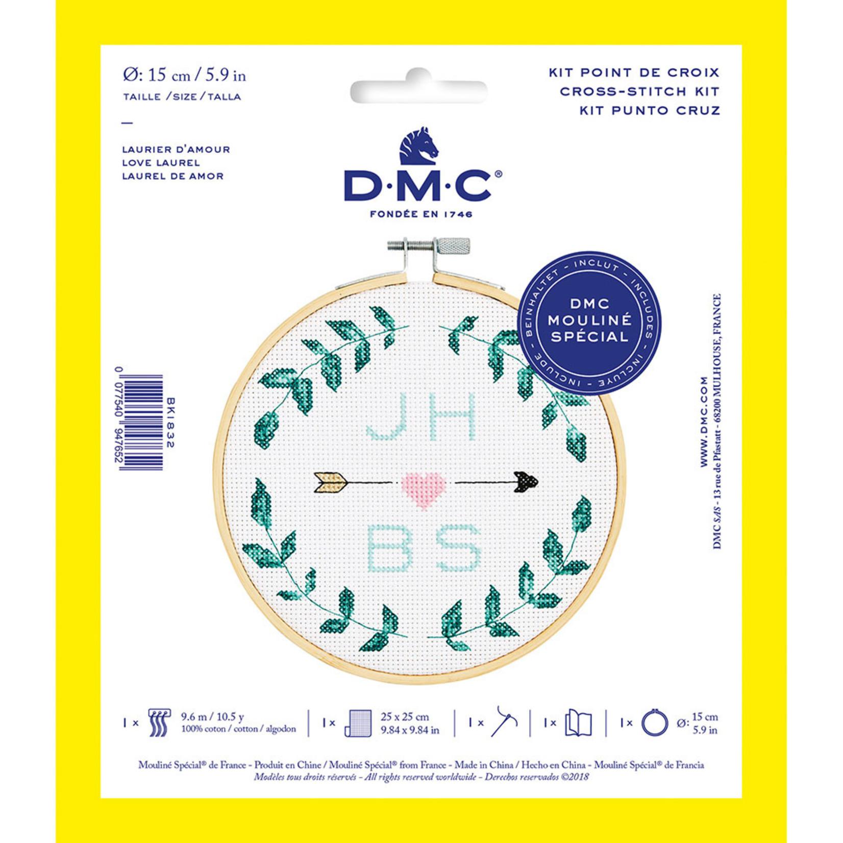 DMC Ensemble pour point de croix