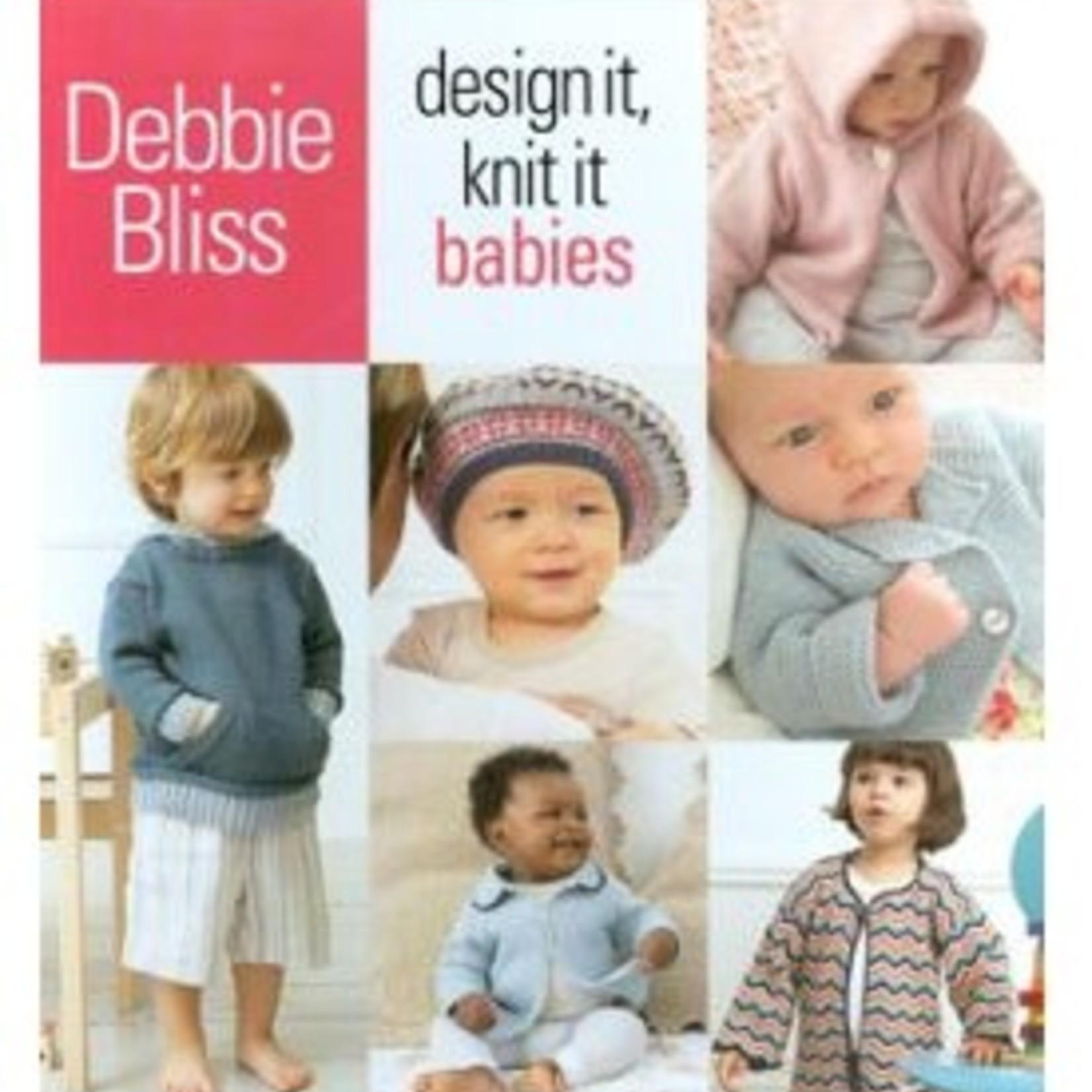 Design It, Knit It- Babies - Debbie Bliss