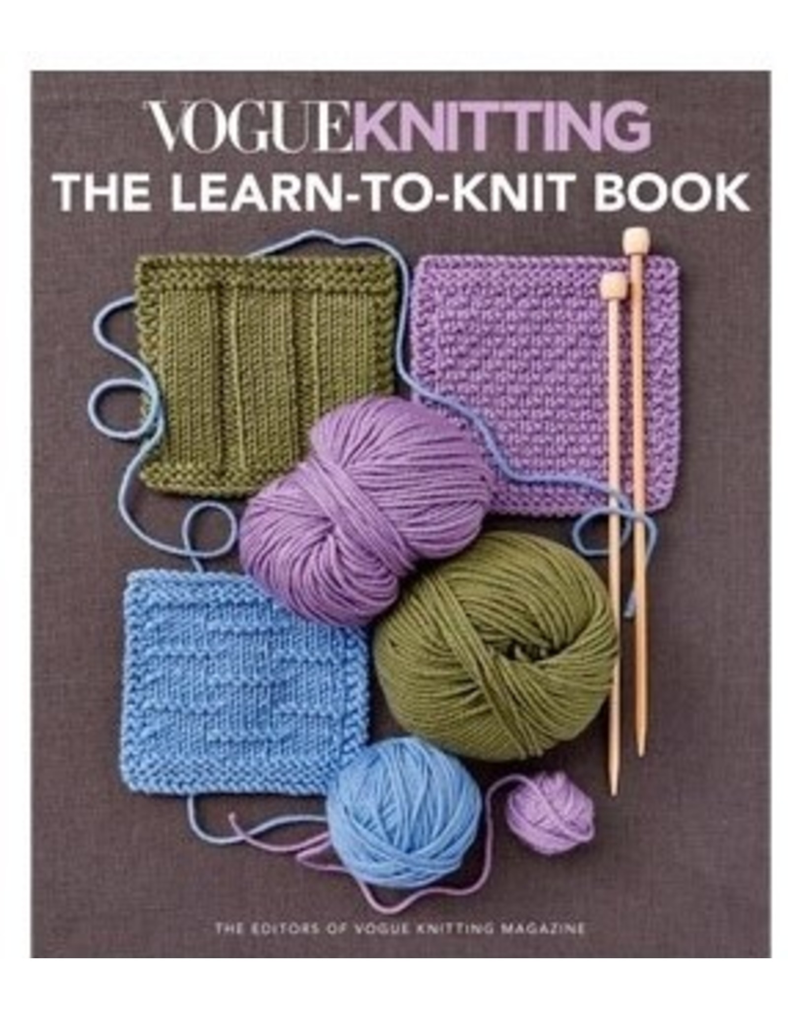 The Learn to Knit Book - Vogue Knitting