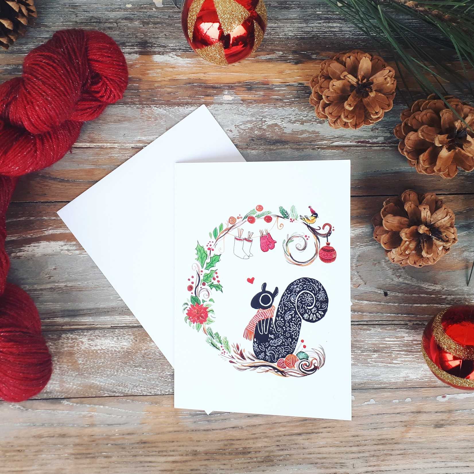 Marie Licorne Illustration Greeting Cards by Marie Licorne