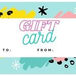 Gift Card - 50$