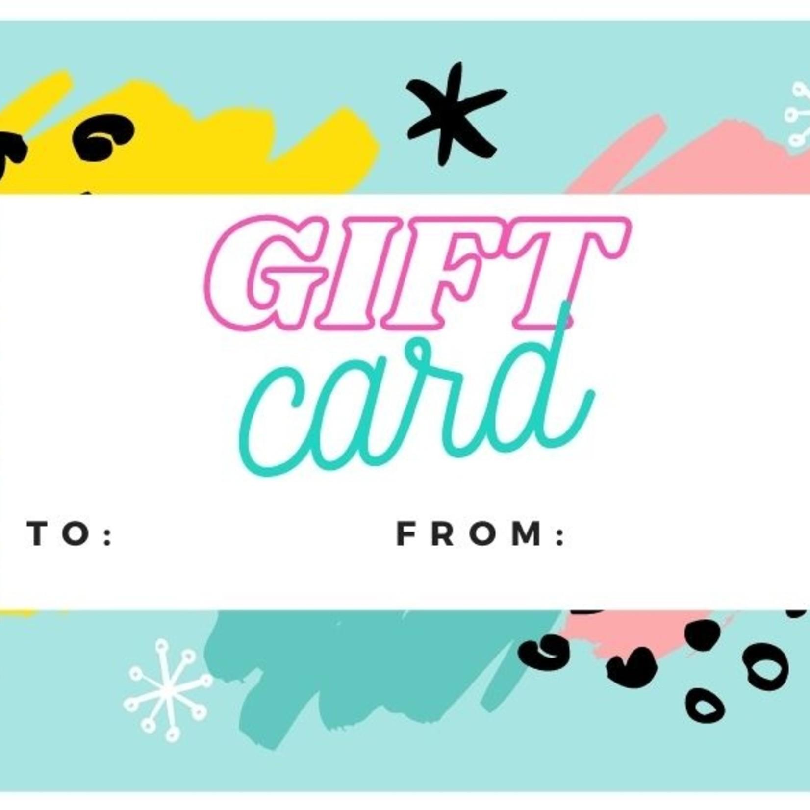 Carte Cadeau - 50$