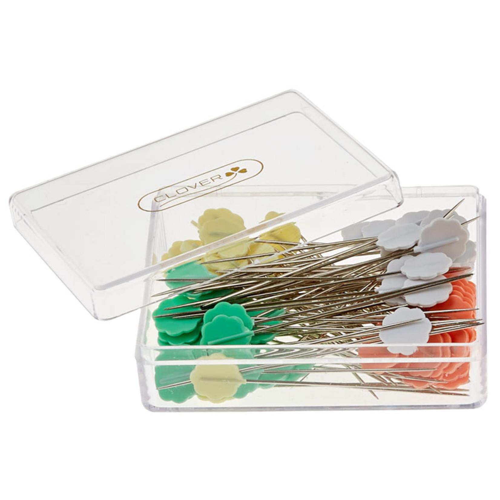 Clover Flower Head Pins (100pcs)