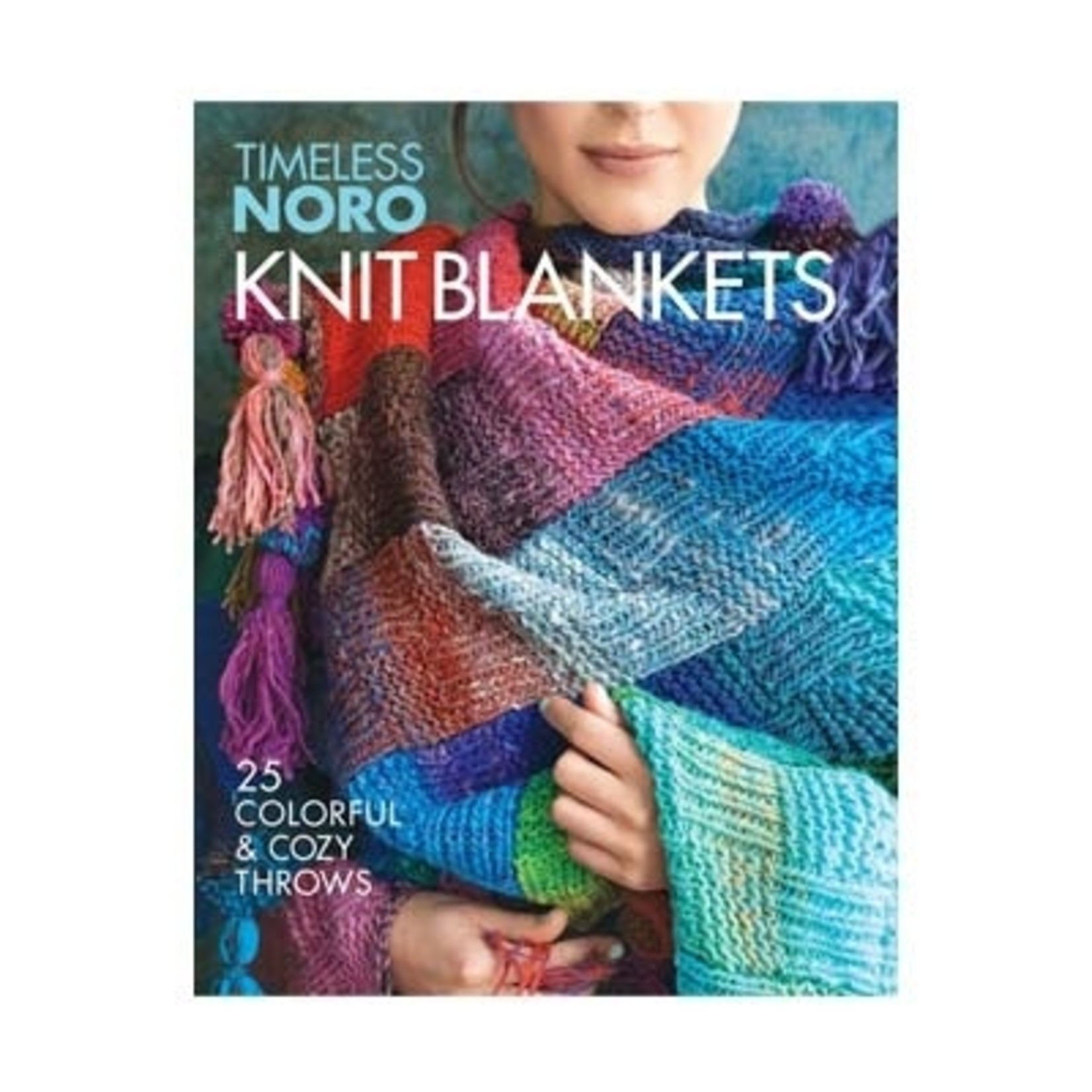 Noro Knit Blankets - 25 Colorful & Cozy Throws