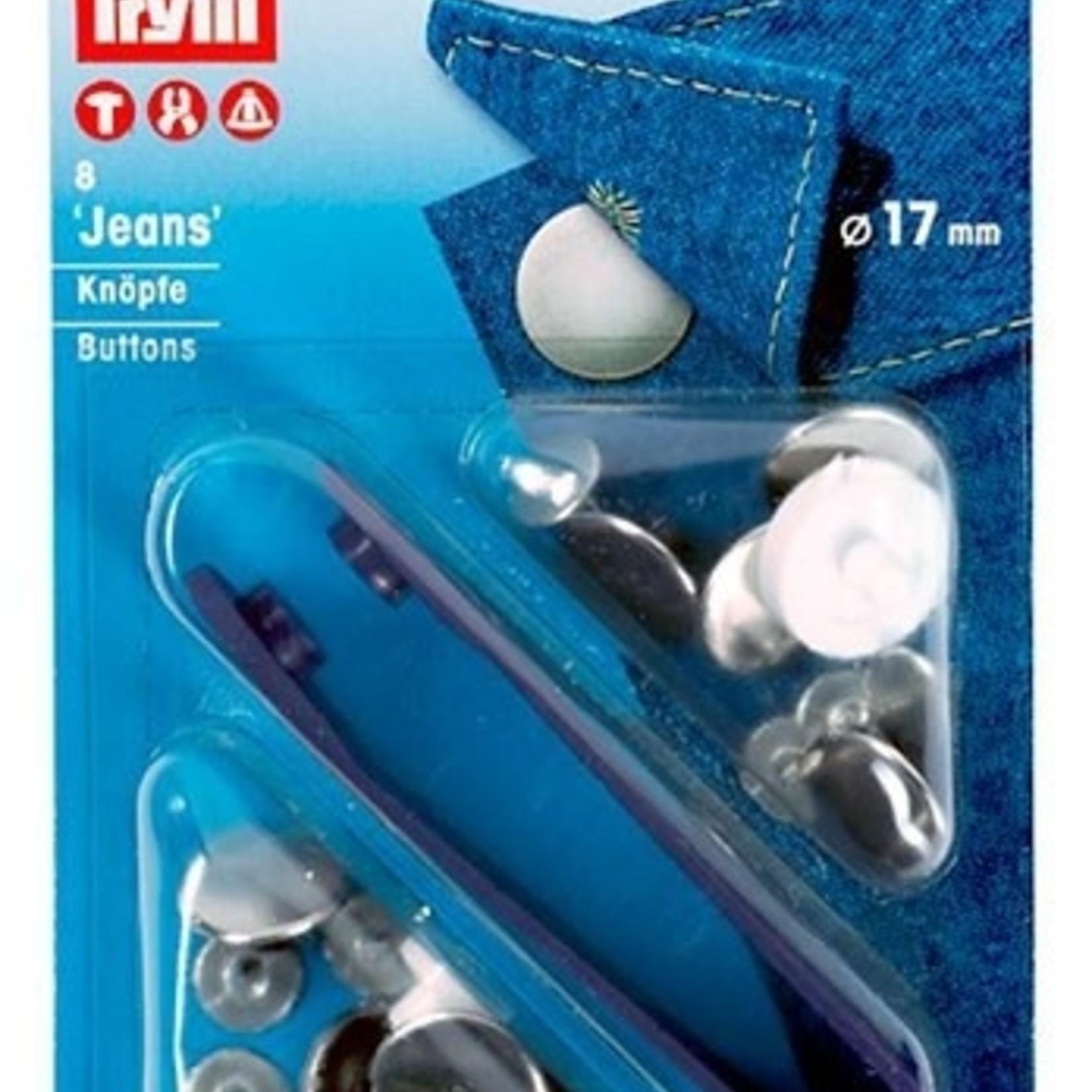 Jeans Buttons 17mm (6pcs)